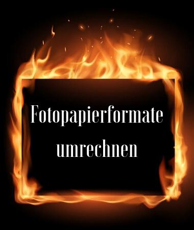 Fotopapierformate umrechnen