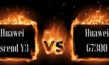 Huawei Ascend Y3 oder Huawei G7300?
